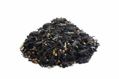 Чёрный чай с кориандром и гвоздикой