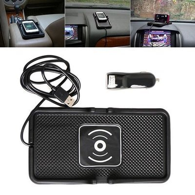 Universal Vehicle Wireless Car Charging Pad with Cinch Card