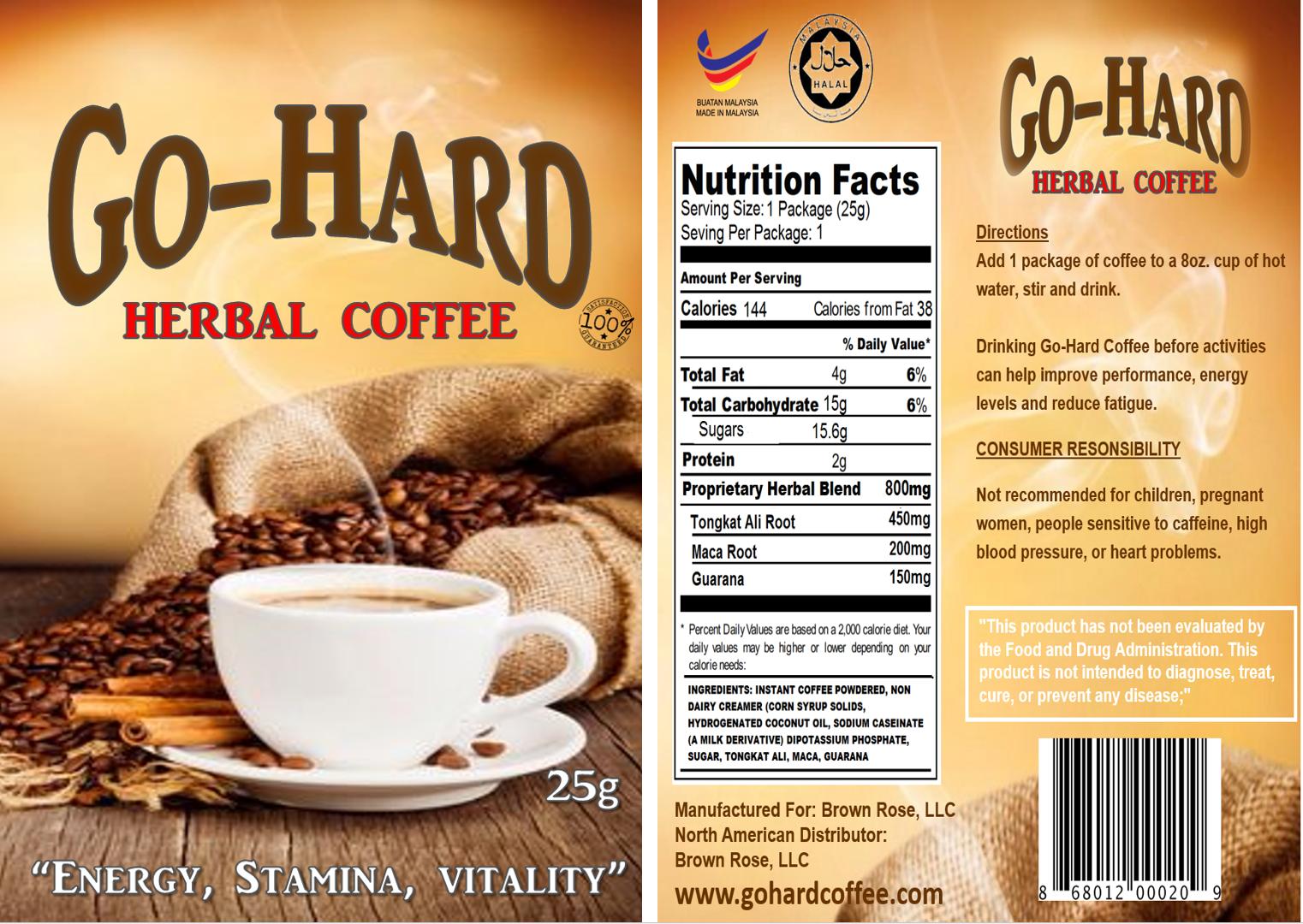 GO-HARD COFFEE 3 PACKS
