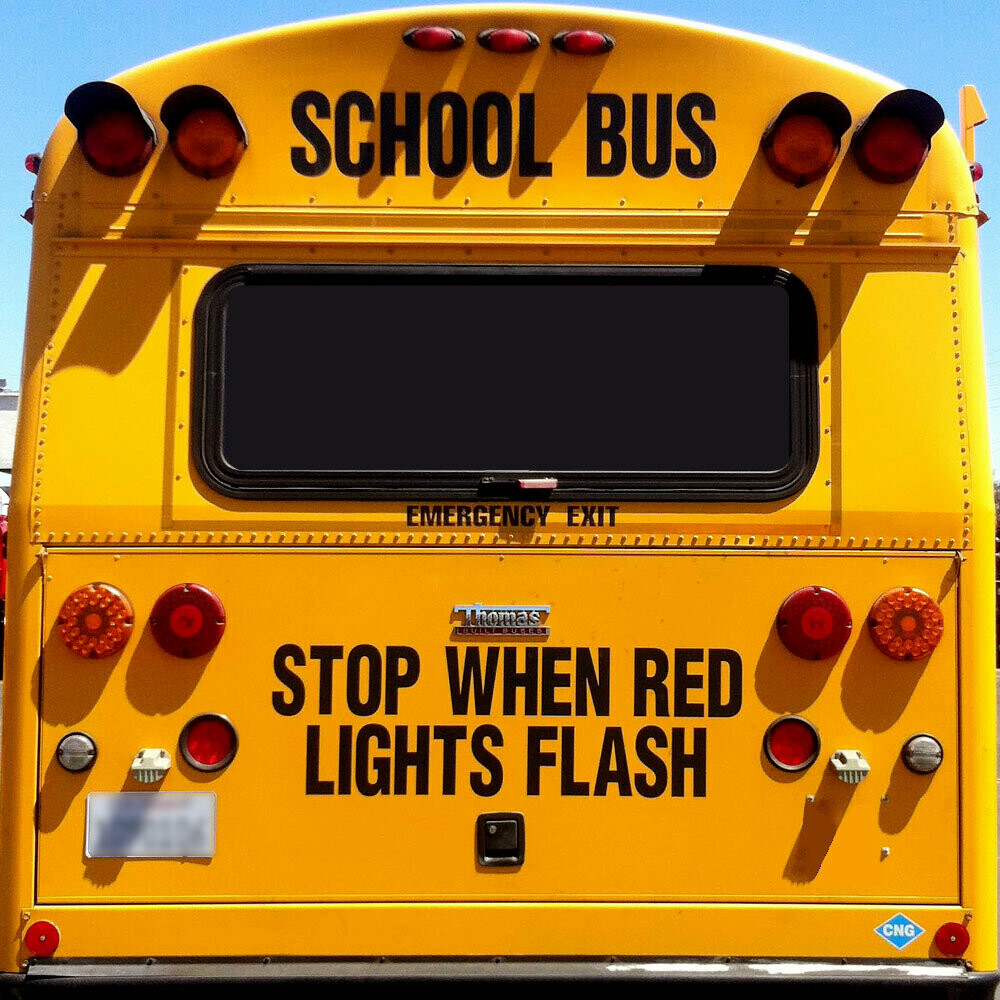 Stop When Red Lights Flash Thomas D Series