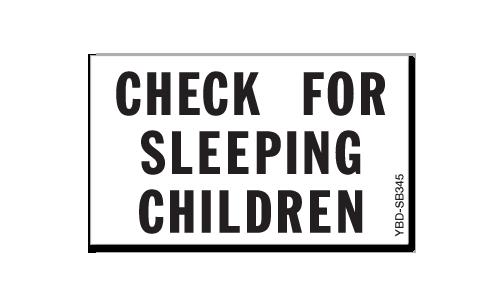 Check For Sleeping Children