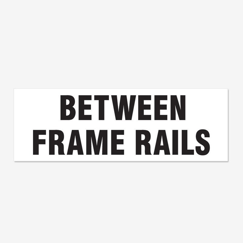 Between Frame Rails