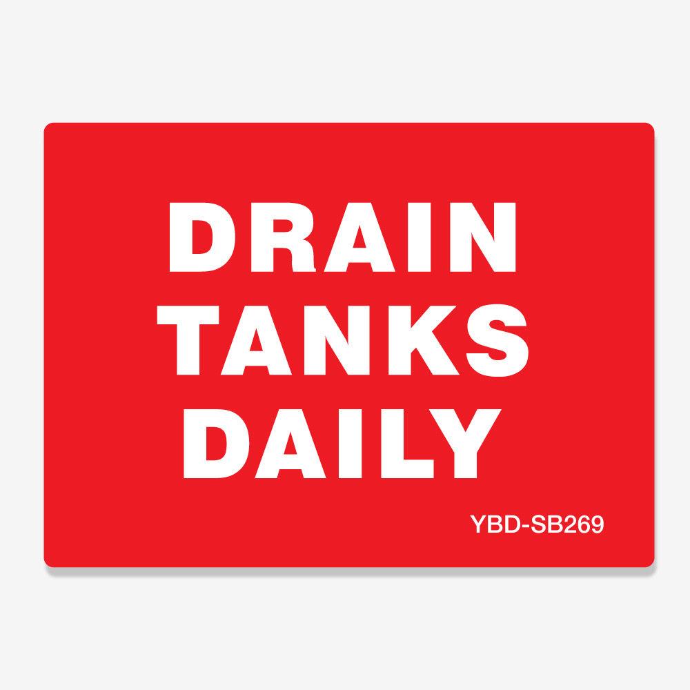 Drain Tanks Daily
