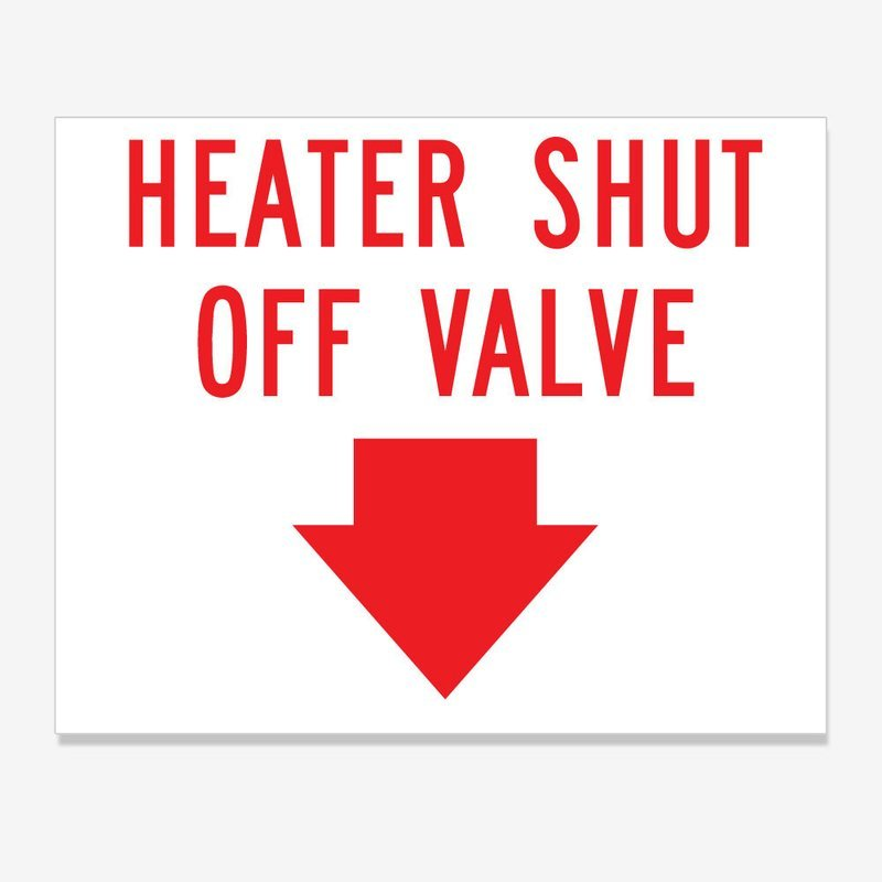 Heater Shut Off Valve