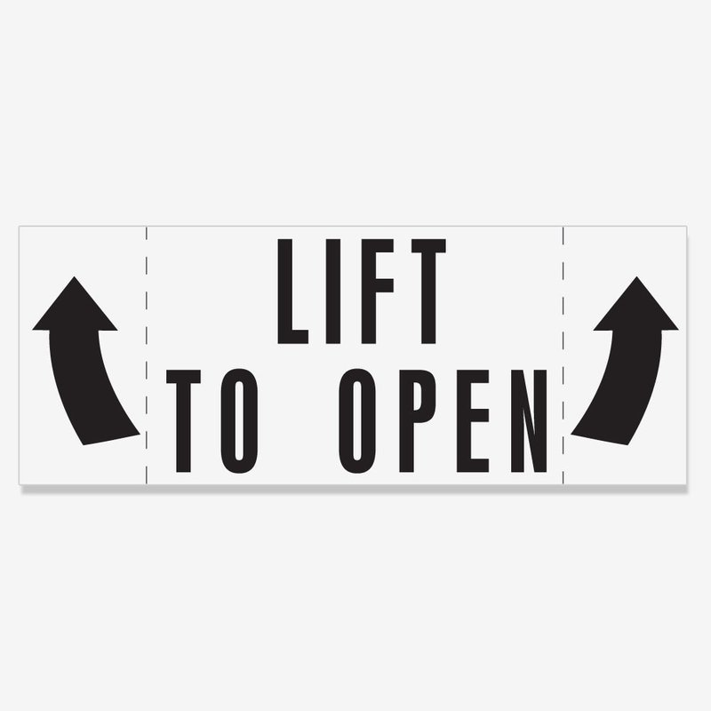 Lift To Open - UNIVERSAL