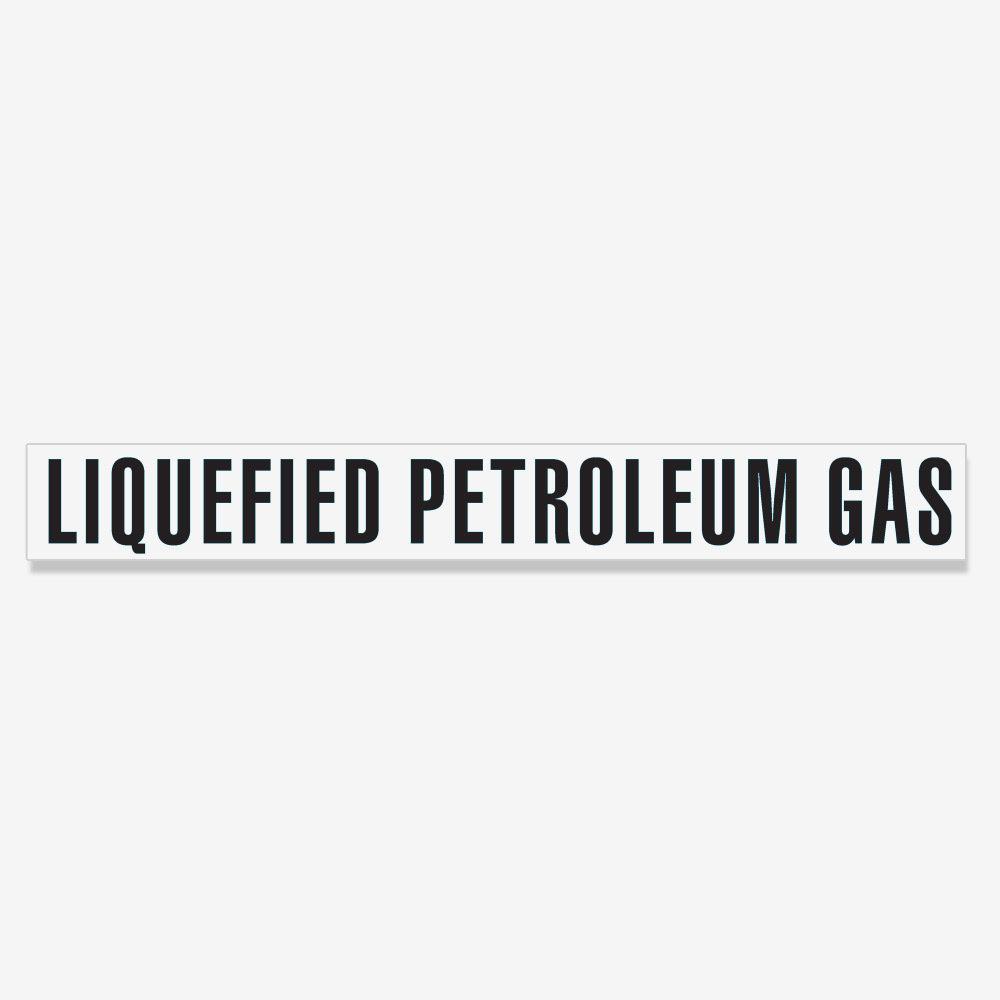 Liquefied Petroleum Gas Decal