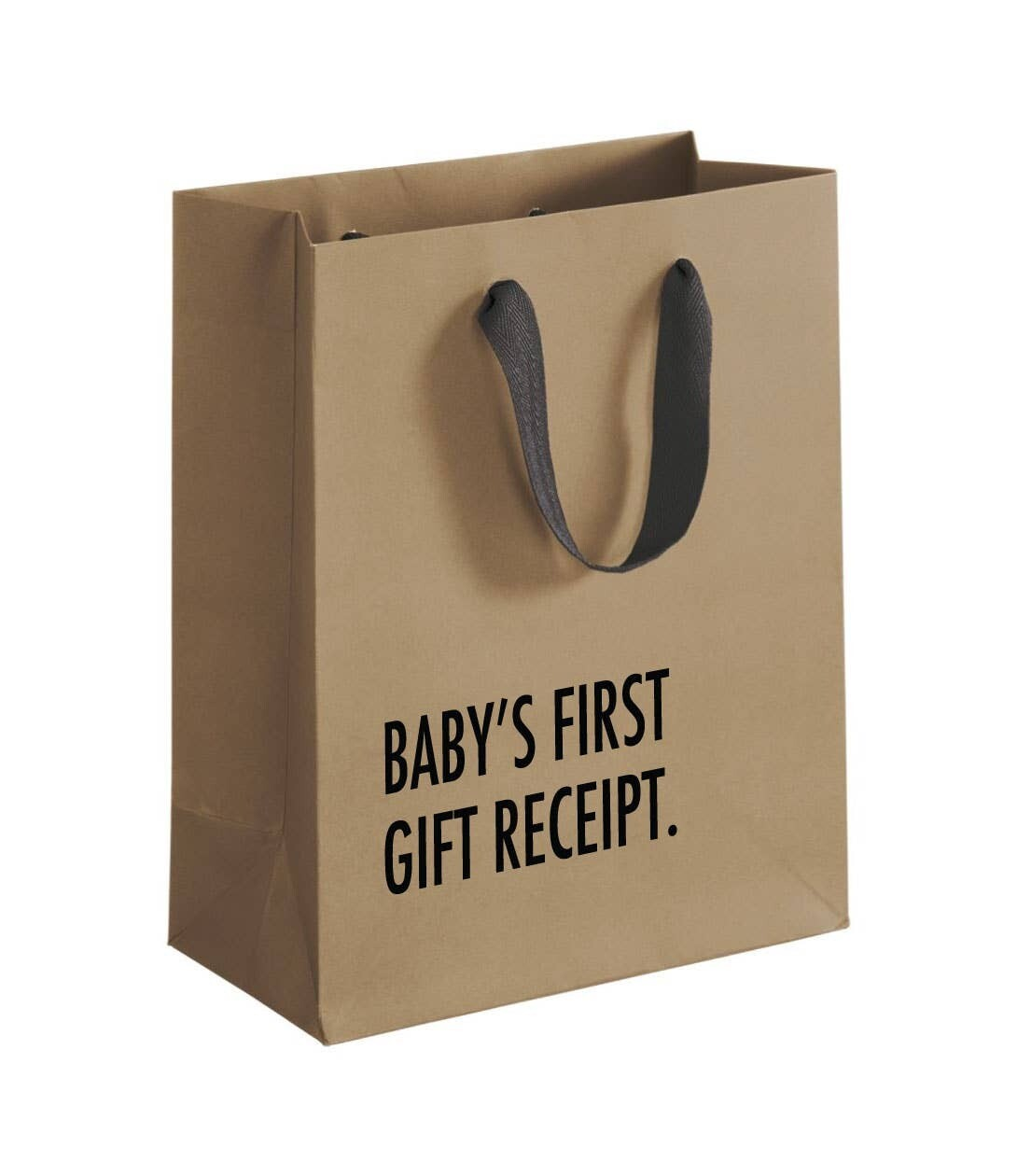 Gift Bag: Baby's First Gift Receipt