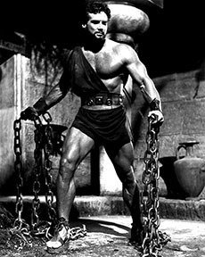 Hercules with Chains