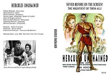 Hercules Unchained DVD