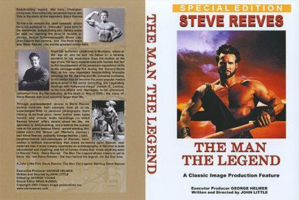 Steve Reeves The Man The Legend DVD