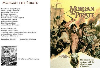 Morgan The Pirate DVD