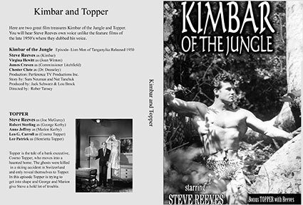 Kimbar Of The Jungle & Topper.