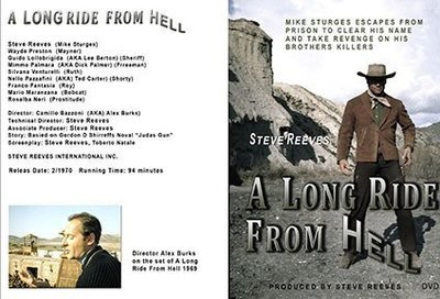 A Long Ride From Hell  DVD