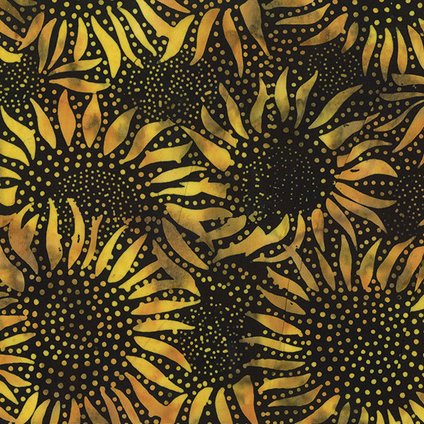 Hoffman Black Sunflower