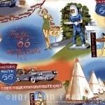 Hoffman Route 66 Blue