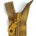 "A B Q Designer Bag Zipper 22"" Bronze Mist"