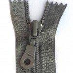 """A B Q Designer Bag Zipper 22"""" Charcoal Grey"""