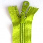 "A B Q Designer Bag Zipper 22"" Lime Green"