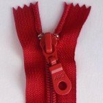 "A B Q Designer Bag Zipper 22"" True Red"