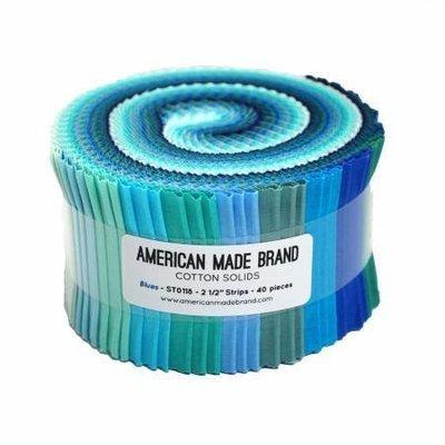 A M B Blues Strip Rolls
