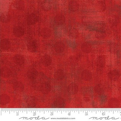 Moda Grunge Red Spots