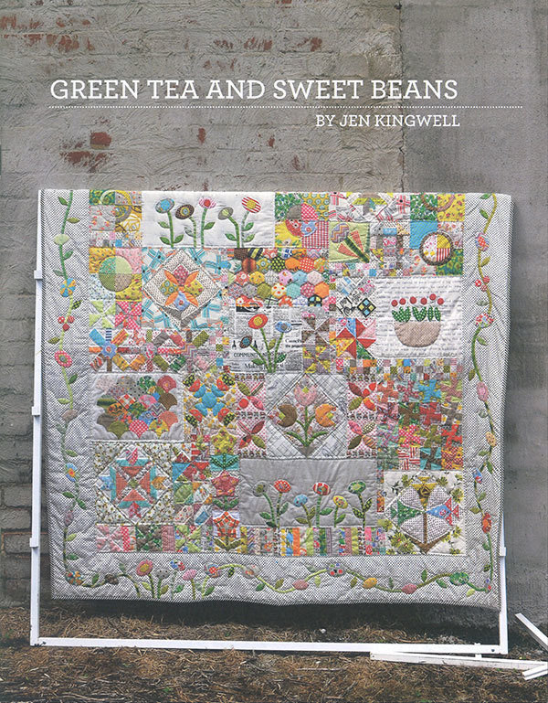 Green Tea And Sweet Beans