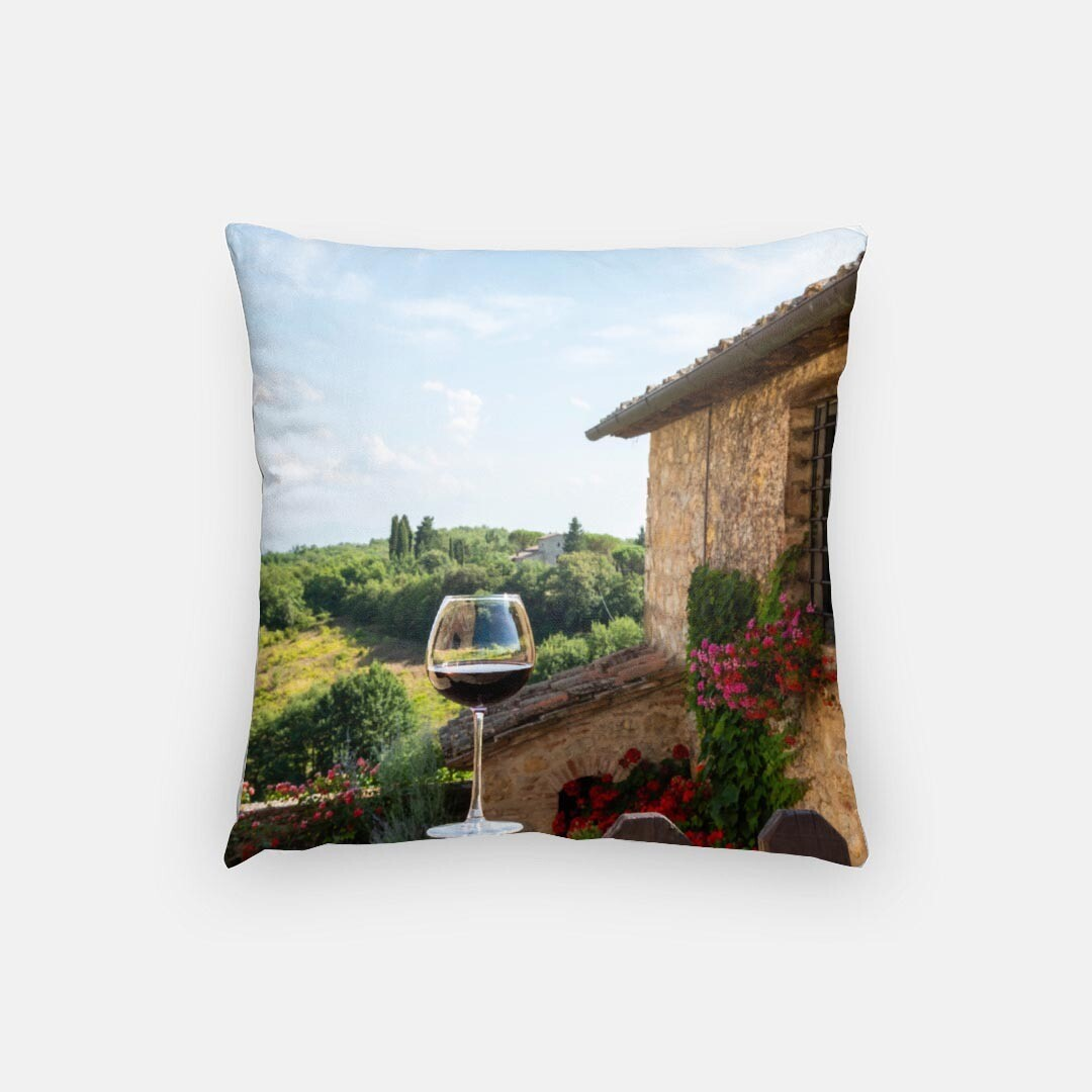 """A Taste of Tuscany 16"""" Pillow"""