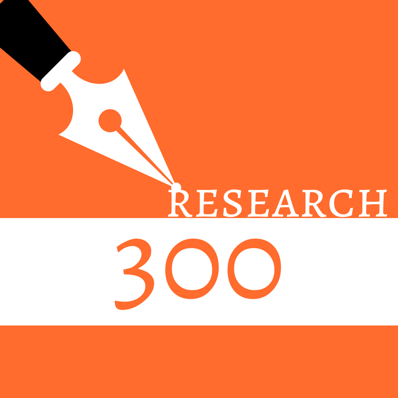 Blog Post/Website Article (research, 300 words)