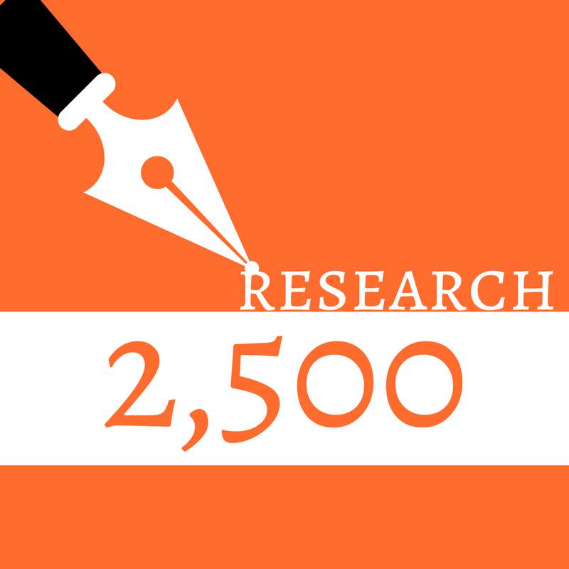 Blog Post/Website Article (Research, 2,500 words)
