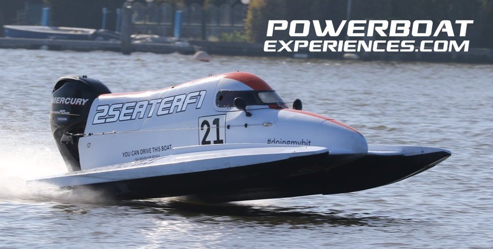 F4 Powerboat Driving Experience, Wyboston Lakes 22nd September 2018