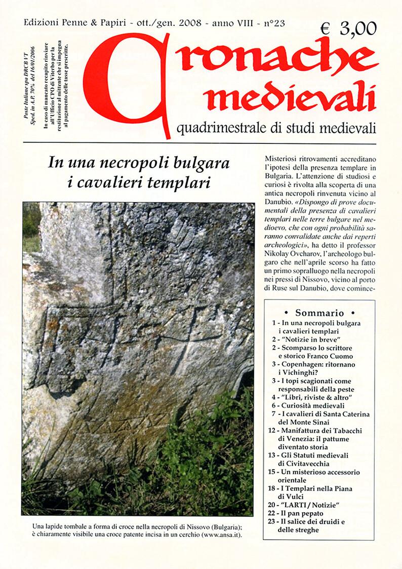 Cronache Medievali - n.  23