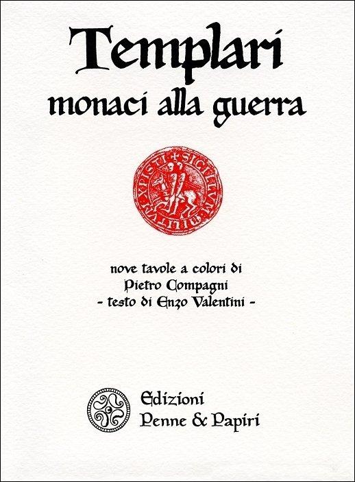 Templari. Monaci alla guerra - Nove cartoline a colori con testo allegato