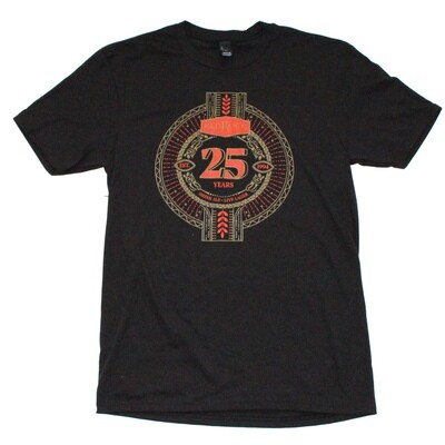 25th Anniversary T-Shirt (Available size: M, XL & XXL)