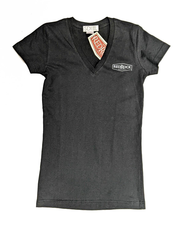 Women's Black Big Hop T-shirt (Size: Small)