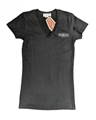 Women's Black Big Hop T-shirt (Size: Small)
