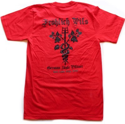 Men's Frohlich Red (Available sizes: Small and Medium)
