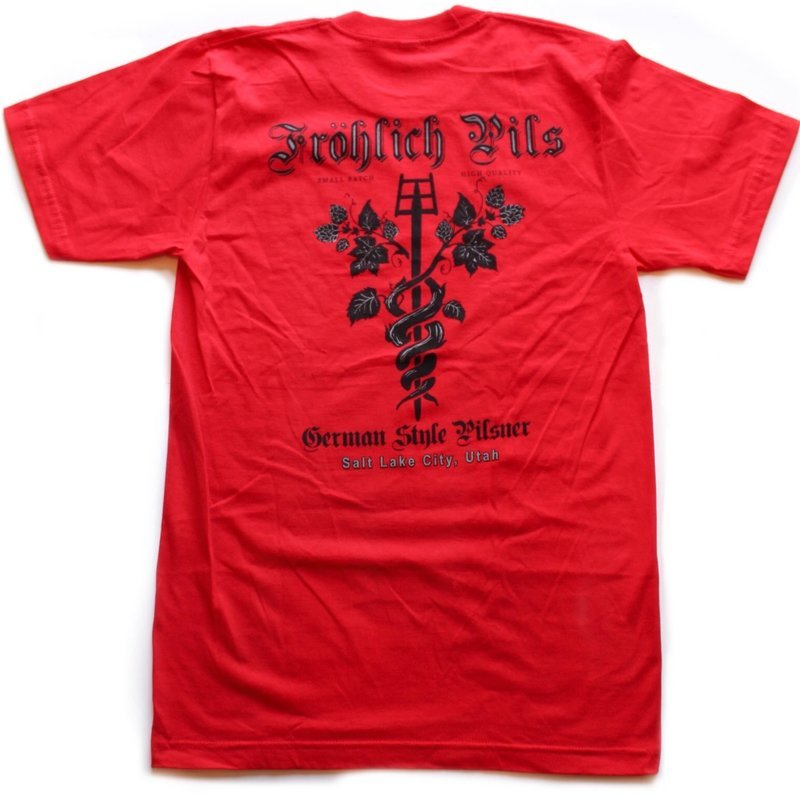 Frohlich Red (Available sizes: Small and Medium)