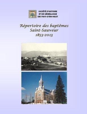 Répertoire des naissances de Saint-Sauveur 1853-2013