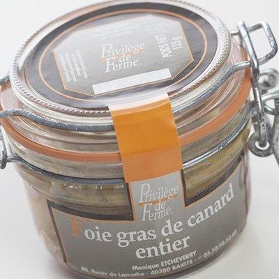 Foie Gras entier Bocal 135 g net