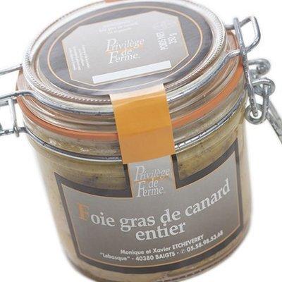 Foie Gras entier Bocal 350 g net