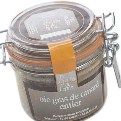 Foie Gras entier Bocal 200 g net