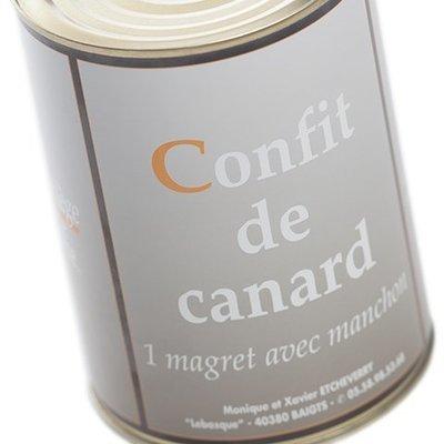 1 Magret avec manchon
