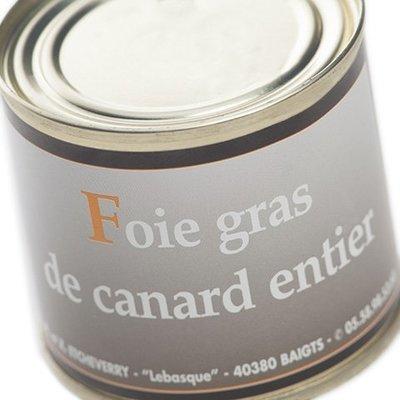 Foie Gras entier Boîte 100 g net