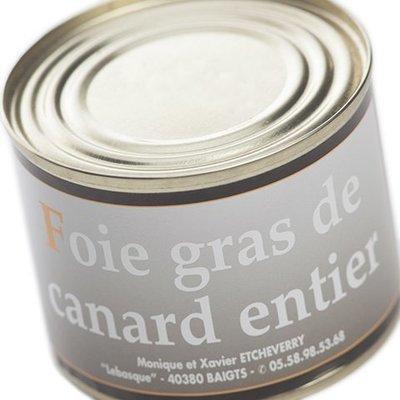 Foie Gras entier Boîte 200 g net