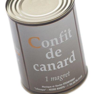 1 Magret confit