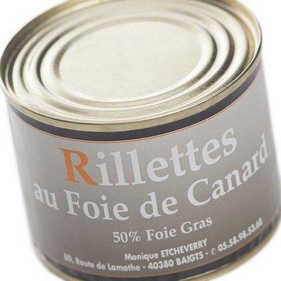 Rillettes au Foie Gras de canard 190 g