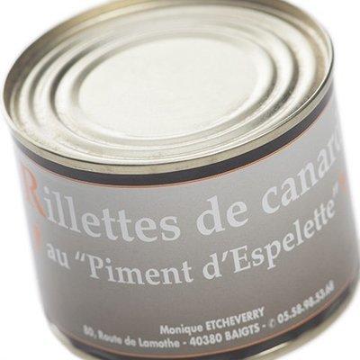 Rillettes au piment d'Espelette 200 g