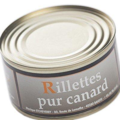Rillettes pur canard 200 g