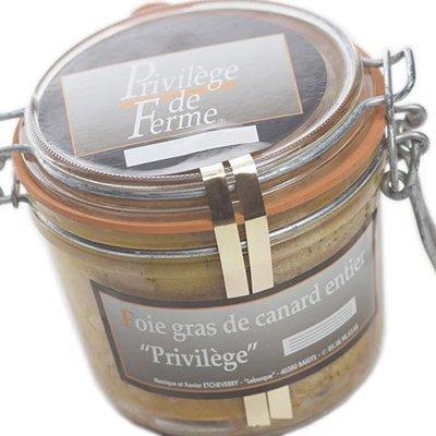 Foie Gras entier Privilège Bocal 500 g net