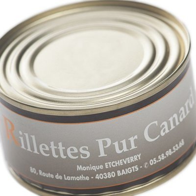 Rillettes pur canard 130g